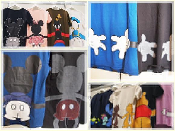 ベルメゾンネット みんなでつながるディズニーTシャツ bellemaison-disney-tshirt