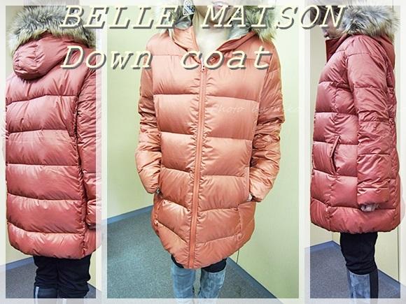 ベルメゾン ダウンコート bellemaison-down-coat