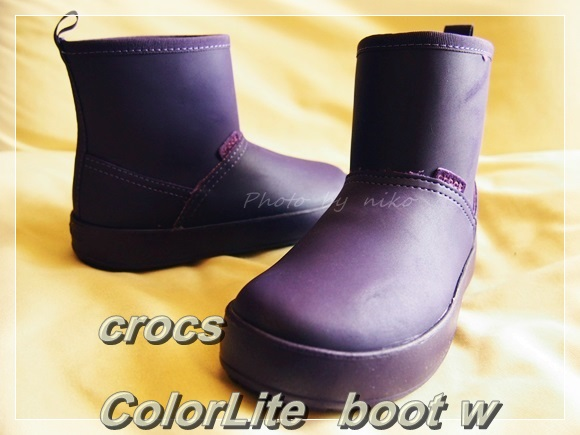クロックス カラーライト ブーツ crocs ColorLite  boot w