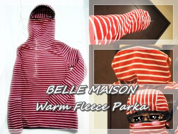 ベルメゾン 最強あったかフリースパーカ bellemaison-fleece-parka