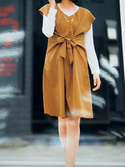 image-fake-suede-one-piece-7