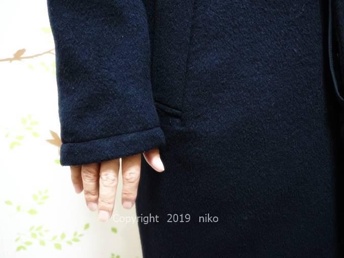 マジカルサーモ メンズコート 袖丈