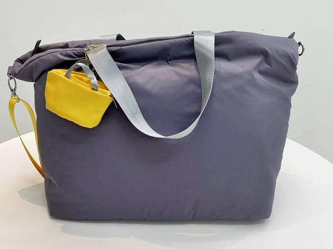 フェリシモ ことりっぷ ふんわり軽量大きめトートバッグ デザイン