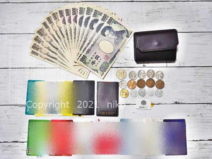 LIFE POCKET Mini Wallet3 収納力 量