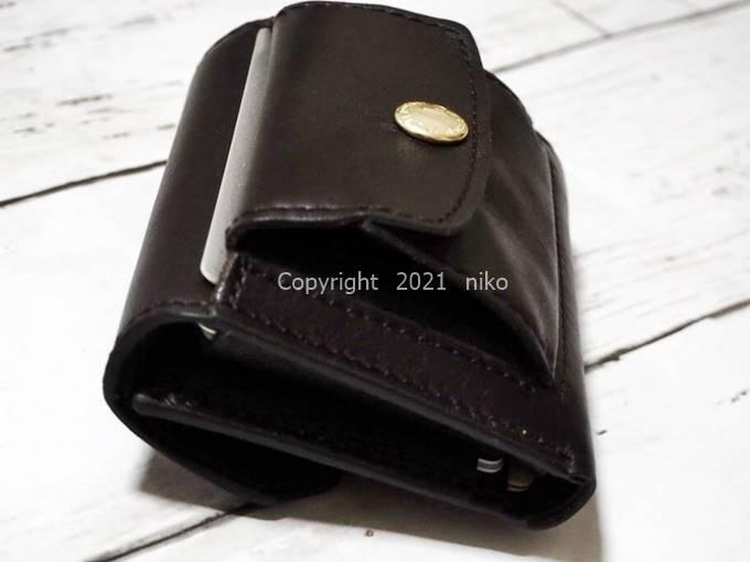 LIFE POCKET Mini Wallet3 ボタン ホック 日本製