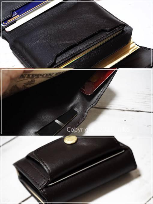 LIFE POCKET Mini Wallet3 カードスリット
