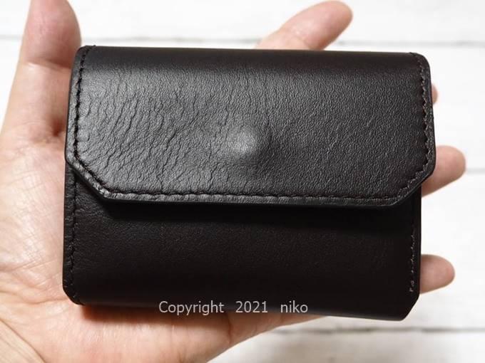 LIFE POCKET Mini Wallet3 サイズ感